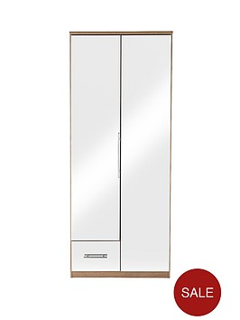 cologne-mirror-2-door-1-drawer-wardrobe