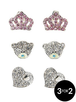 me-to-you-set-of-3-crown-bear-and-heart-crystal-set-earrings