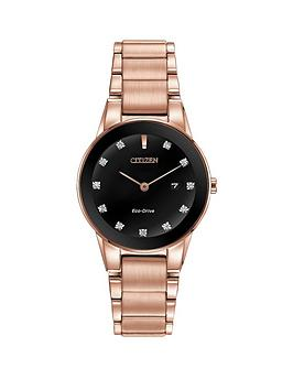 citizen-eco-drive-axiom-crystal-set-black-dial-rose-gold-tone-stainless-steel-bracelet-ladies-watch