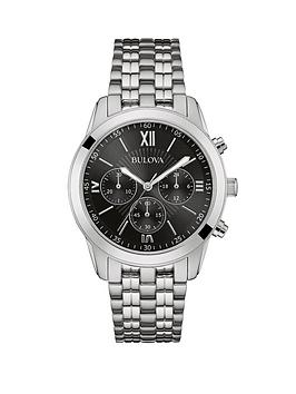 bulova-bulova-chronograph-stainless-steel-case-and-bracelet-black-dial-mens-watch