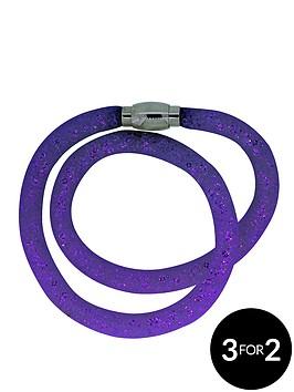 double-wrap-sparkle-dust-magnetic-clasp-bracelet