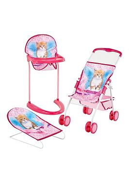 hauck-3-piece-go-and-care-dolls-set-kitten