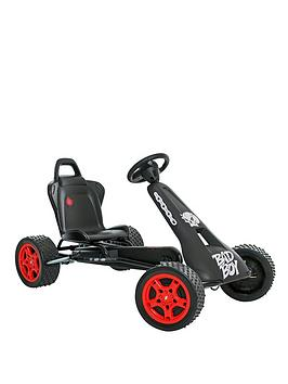 rolly-toys-cross-racer-go-kart-cr-2-go-kart-black