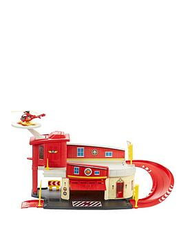 fireman-sam-die-cast-firestation-play-set