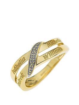 personalised-9-carat-yellow-gold-diamond-set-family-name-ring