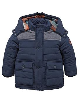 ladybird-boys-navy-quilted-coat