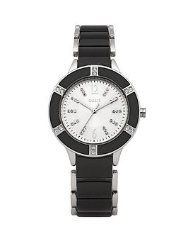 oasis-white-dial-silver-tone-black-inlay-ladies-watch