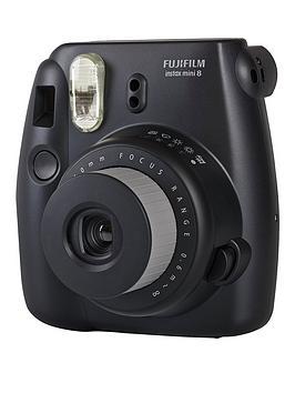 fuji-instax-mini-8-black-instant-camera-including-10-shots