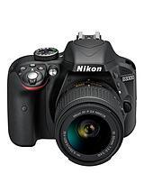 D3300 24.2 Megapixel Digital Camera with 18-55mm Non-VR Lens
