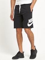 AW77 Mens Track and Field Almuni Fleece Shorts