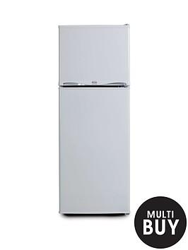 swan-ser5320w-48cm-freezer-over-fridge-white