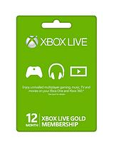 12 Months Xbox Live Gold Membership