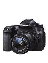 EOS 70D SLR 20.2 Megapixel Camera EF-S 18-55mm IS STM