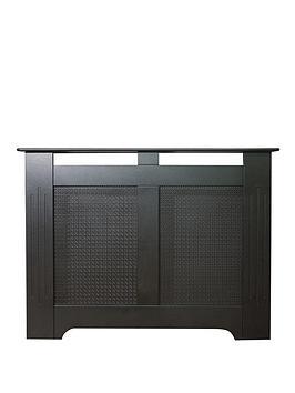 adam-fire-surrounds-160cm-black-textured-radiator-cover