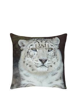 fearne-cotton-snow-leopard-print-cushion