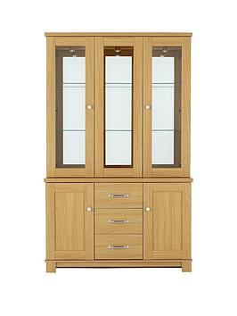 consort-belvoir-ready-assembled-3-door-glass-display-unit