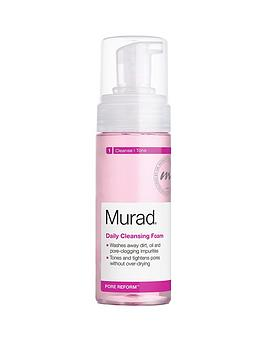 murad-pore-reform-daily-cleansing-foam-150ml-free-murad-essentials-gift
