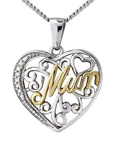 keepsafe-yellow-gold-and-sterling-silver-with-cubic-zirconia-filigree-heart-mum-pendant