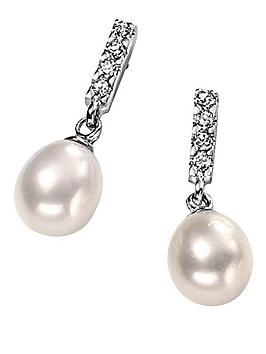 elements-sterling-silver-white-pearl-and-crystal-drop-earrings