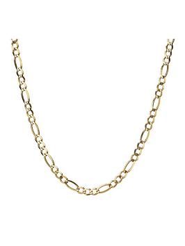love-gold-9-carat-yellow-gold-14oz-solid-diamond-cut-figaro-curb-chain