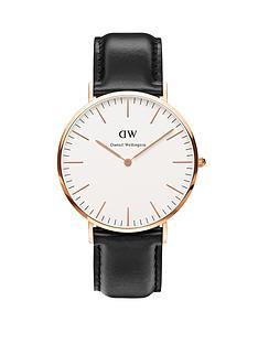 daniel-wellington-rose-gold-tone-leather-strap-mens-watch