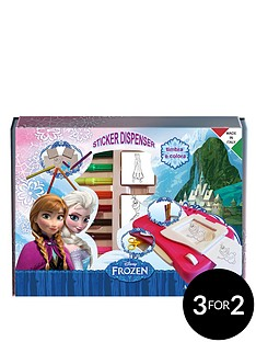 disney-frozen-sticker-machine