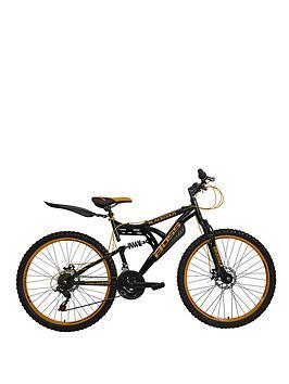boss-cycles-blackgold-dual-suspension-mounain-bike