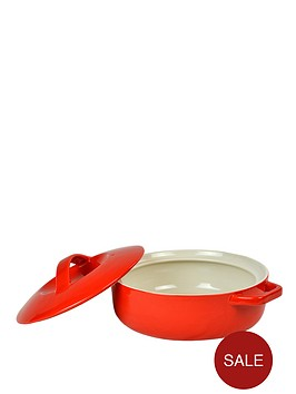 swan-shallow-round-casserole-red
