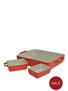 swan-oven-to-tableware-rectangular-set-red