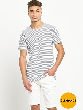 minimum-long-line-striped-tshirt