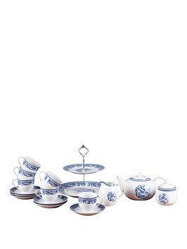 country-blue-16pc-tea-set
