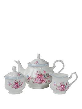 country-rose-3pc-tea-set