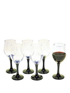 black-stem-wine-glasses-6pc