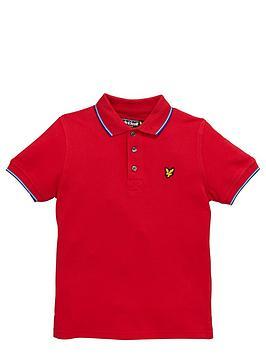 lyle-scott-boys-tipped-polo-shirt