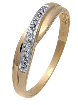 love-diamond-9-carat-yellow-gold-diamond-set-crossover-ring