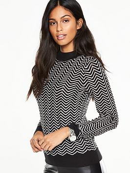v-by-very-chevron-stripe-jumper