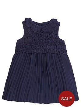 mamas-papas-baby-girls-lace-pleat-dress