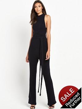 lavish-alice-rib-knit-open-back-wrap-tie-flared-leg-jumpsuit