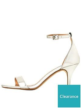 Mid V Heel Silver Very Ankle Sandal Buttercup Strap By VpqSULzMG
