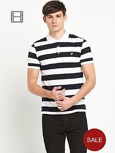 lyle-scott-block-stripe-polo-shirt