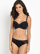 Mae Underwired Padded Half Cup Bra