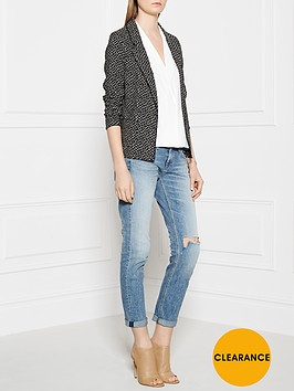 maison-scotch-mini-leopard-print-jacket-black