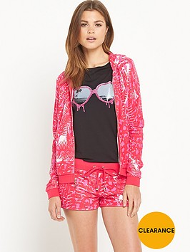 juicy-couture-jungle-cat-printed-hoodie-pink