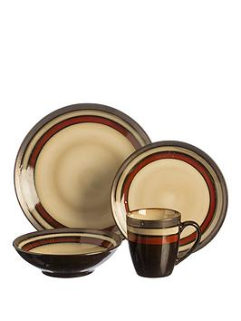 rayware-piazza-red-16-piece-dinner-set