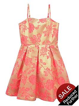 v-by-very-girls-strappynbsppremium-jacquard-prom-dress