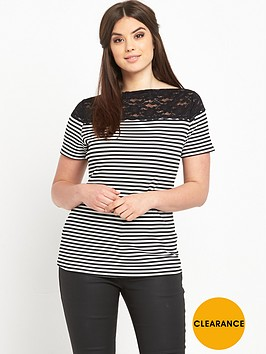 so-fabulous-stripe-lace-shoulder-t-shirt