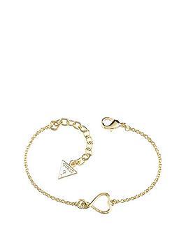 guess-gold-plated-heart-logo-bracelet