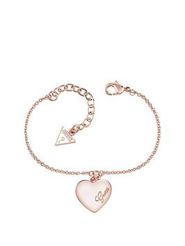 guess-rose-gold-plated-logo-solid-heart-bracelet