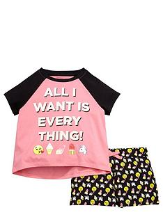 emoji-girls-short-pyjamas