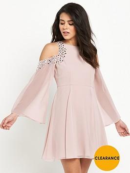 lipsy-embellished-swing-dress
